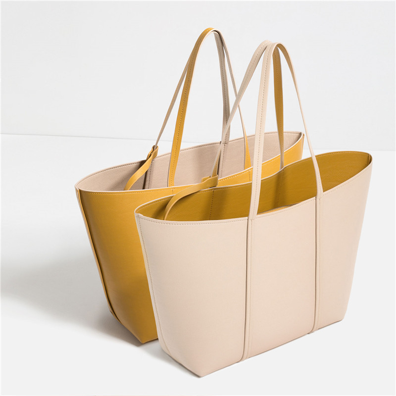 Woman Bags 2016 Fashion Designer Women Handbags Large Capacity Pu Leather Composite Bag Female Shoulder Bags Totes Bolsas A0327
