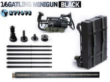ZY Toys 1/6 Scale Mini Terminator Gun Model M134 Heavy Machine Minigun Gatling 8018 Weapon Model Toy Accessory for action Figure все цены