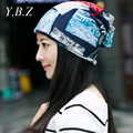 2016 Brand Beanies Knit Woman's Winter Caps Skullies Bonnet Winter Hats For Men Beanie Warm Baggy Knitted patch connection Hat