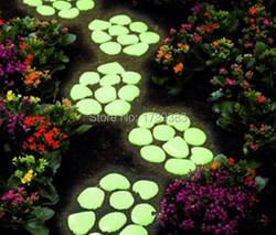 1 кг/лот большой Размер от 3 до 6 лет см световой галечный камень ночник украшения сада Галька Камни цвета смешанные отправлено оптовая