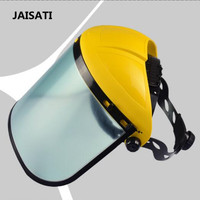 JAISATI Lawn Mower Accessories Facial Splash Protection Mask High Branch Saw High Branch Shear Protective Steel Mesh Masks