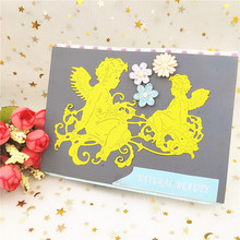ZhuoAng New design cutting mold making DIY clip art book decoration embossing NH-014