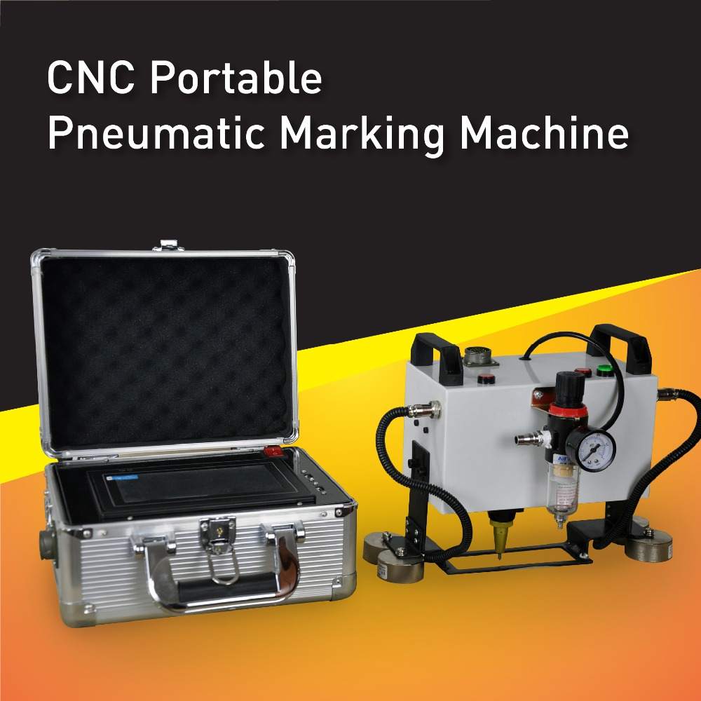 Low Cost Portable CNC Dot Peen Marker,High Quality Pin Marking Machine For Metal, easy carry and no need PC any more mp marking machine for nameplate metal machine pin marker dot peen engraving machine for metal parts