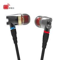 SENFER DT2 Plus Pro Updated Dynamic With 2BA DD Hybrid Driver In Ear Earphone Ceramic IE800