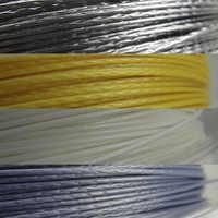 Tennis Schläger Saiten Polyester Alu Power Rough 125 200 m/reel 4 farben