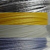 Racket Snaren Polyester Alu Vermogen Rough 125 200 m/reel 4 kleuren|Tennisaccessoires|sport & Entertainment -