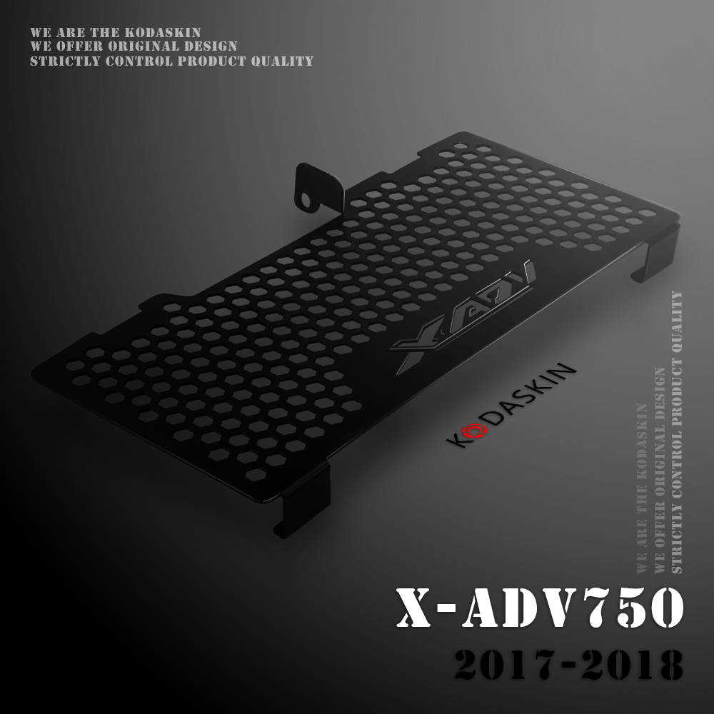 KODASKIN moto Laser coupe radiateur garde couvercle protecteur adapté pour HONDA XADV750 X-ADV750 2017-2018