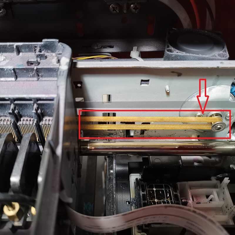 DOMSEM Correia da Cabeça de Transporte da Correia Do Motor Do Motor Em Movimento Para A4 A3 UV Flatbed Máquina Impressora Jato de tinta