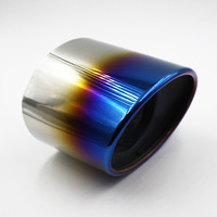 Automobile Exhaust Tip Tail Pipe Muffler For 2008 Honda Accord