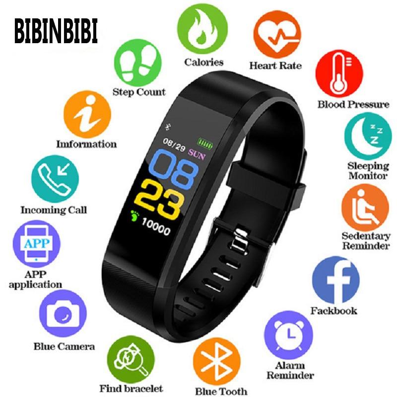 2019 New Smart Watch Men Women Heart Rate Monitor Blood Pressure Fitness Tracker digital watch Sport