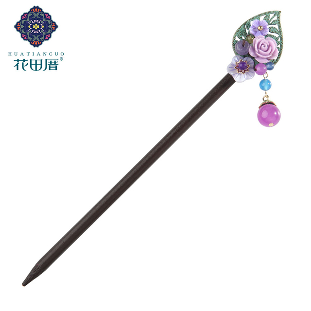 Ethnic Handmade Flower Hairpin