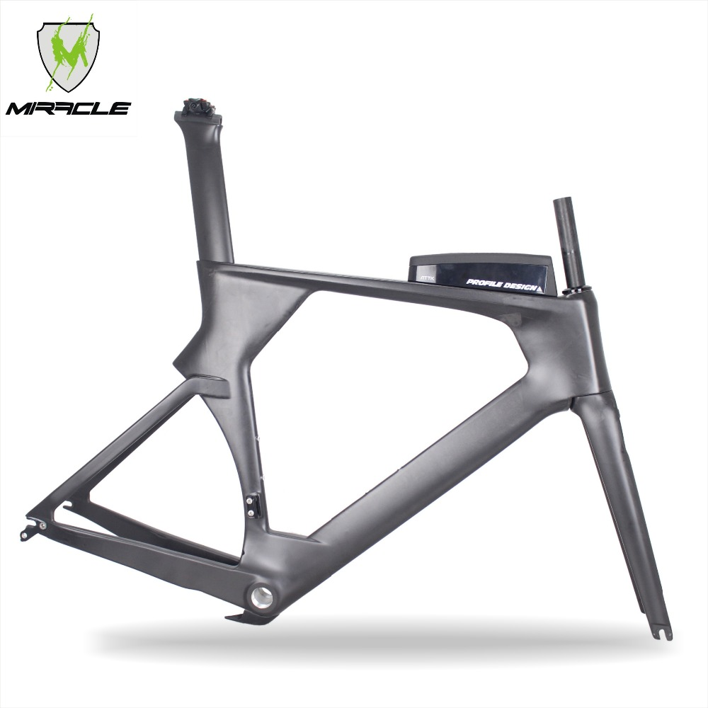 2018 Factory Direct Selling Time Trail Carbon Bike Frame Include Frame/fork/seatpost/clamp/headset/ATTK Box