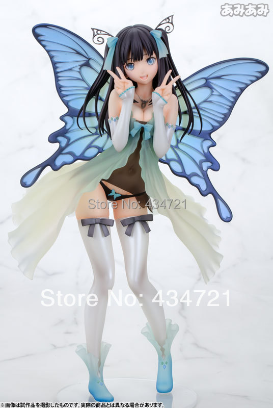 Classic Anime TONY  Bishoujo Yotsunoha  Heroine CHN Collection Peace Keeper Daisy Butterfly 25CM Figure Toys