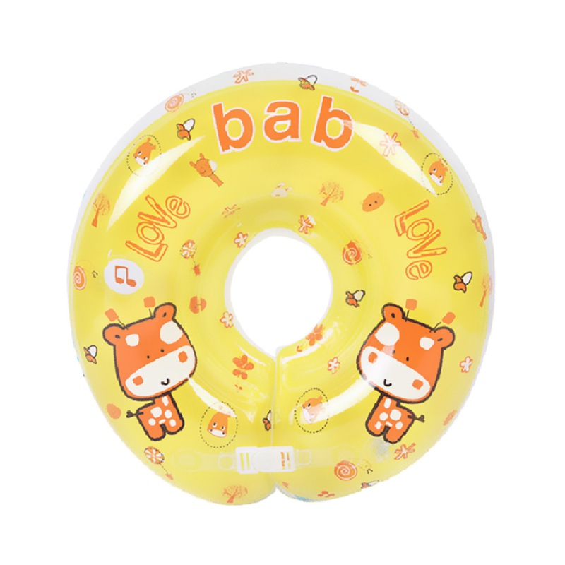 Swimming Baby Pools Accessories Baby Infant Ring Baby Neck Inflatable Wheels For Newborns Bathing Circle Safety Neck Float