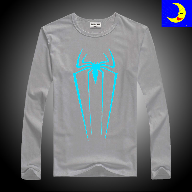 Spiderman T Shirts Toddler Baby Boys Winter Tops Children Long Sleeves T-Shirts For Girls Kids TShirt Size 3 5 10 11 12 14 Years