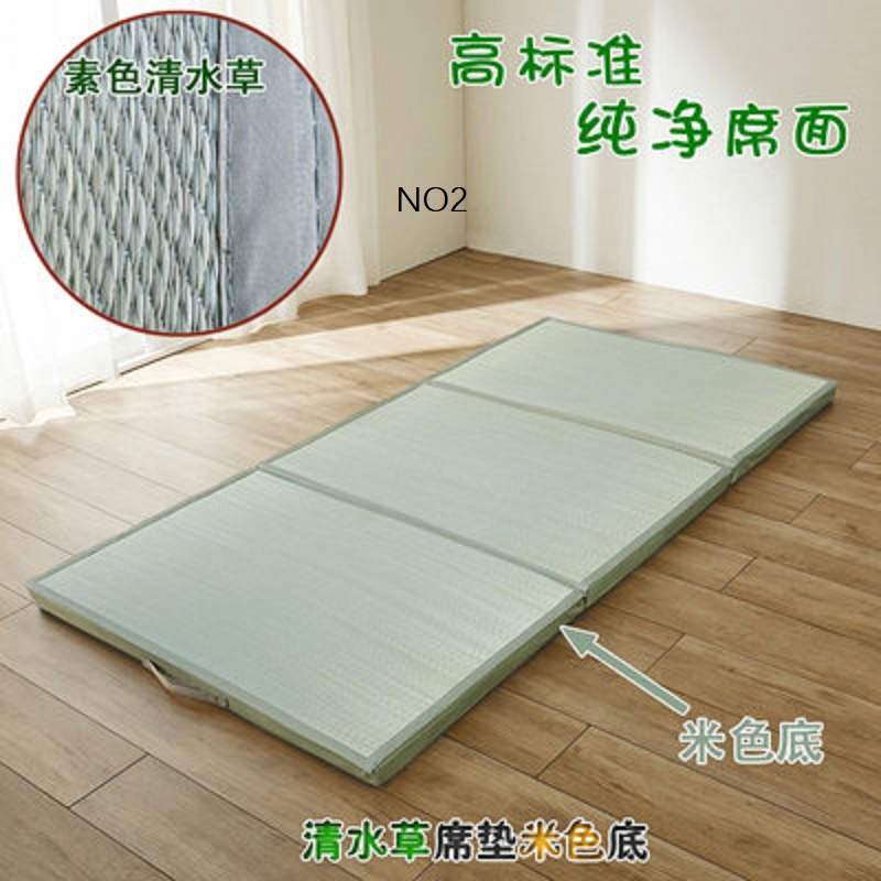 Folding JapaneseComfortable  Tatami Mattress Mat Rectangle Large Foldable Floor Straw Mat For  Sleeping Tatami Mat Flooring