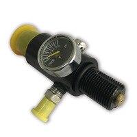 Tanque de Paintball cilindro de fibra de carbono preestablecido AC961 4500 PSI o envío directo de caza Acecare