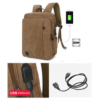 Men Women Backpack External USB Charge Computer Bag Notebook Backpack Case 15 6 Inch Laptop Bags