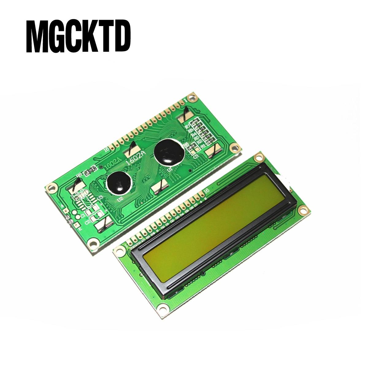 5 шт./лот 1602 LCD 16*2 персонажа ЖК-модуль дисплей/LCM с желтым зеленым
