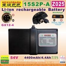 [Z025] 54 V/63 V; 4400 mAh/4.4AH; GX12 4; ליתיום נטענת סוללה עבור NINEBOT מיני xiaomi 9 איזון חד אופן; קטנוע, N3M240