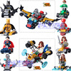 DR TONG 80pcs Lot DLP9068 Marvel Avengers Super Heroes Action Figures Superman Batman Robin Building Blocks