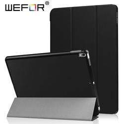 Чехол Smart Case для iPad Pro 10.5 a1701/a1709, из искусственной кожи Ultra Slim Light Вес крышка магнита автовключение/складной сон стоять Fundas