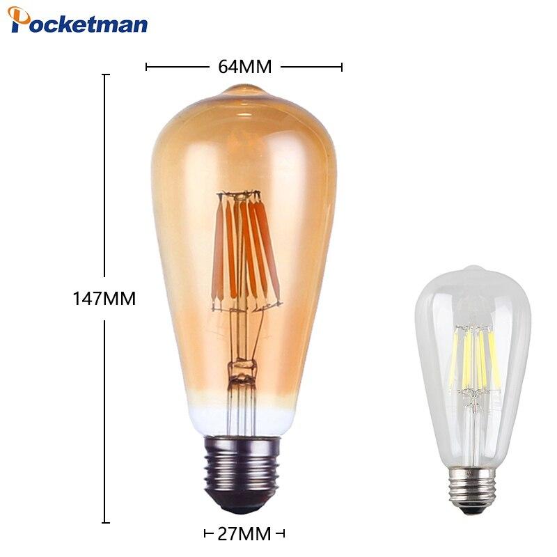 Lâmpadas Led e Tubos 85 265 v lâmpada de Temperatura de Cor : 2700k