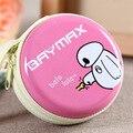 Baymax Monedero de Color Caramelo Cartera de Los Niños de dibujos animados Cargador Auricular Del Auricular Del Organizador Bolsas Para Niñas