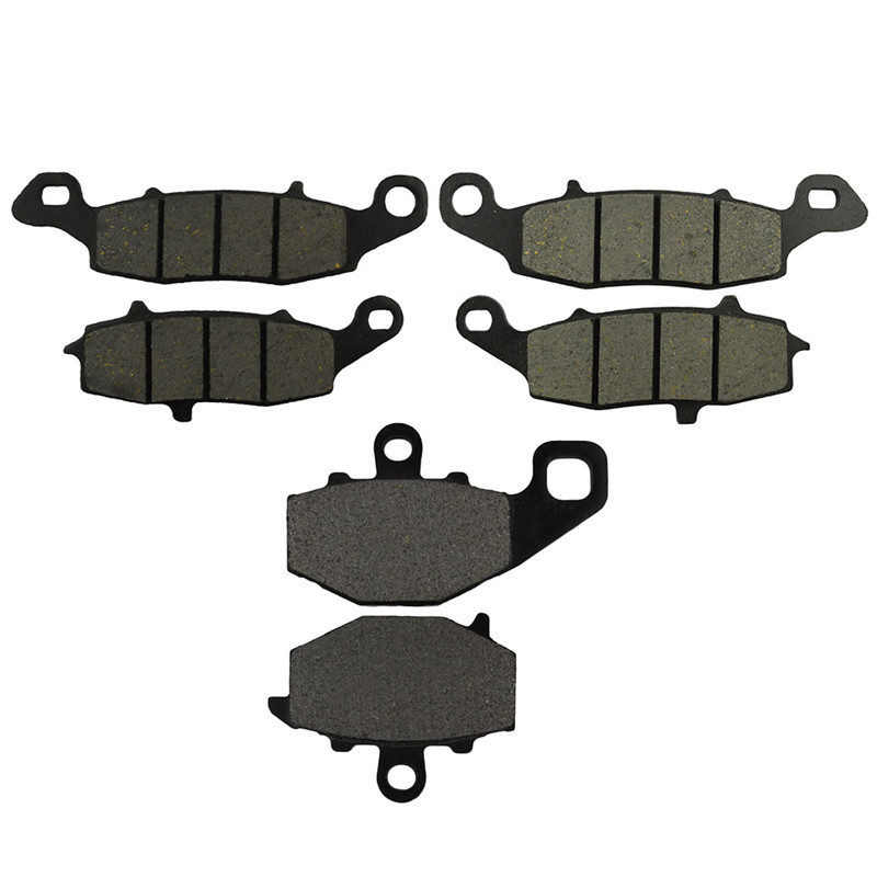 Motorcycle Front & Rear Brake Pads Discs Kit For KAWASAKI GPZ1100 1995-1998 Z750 ZR750 J1/J2 2004-2005 Z750S ZR 750 K1/K6F 05-07 motorcycle front rear brake pads for kawasaki gpx 600 r zx600 1988 1996 gpx 750 r zx750 1987 1989 zr750 1991 1995 zx100 zx10 p04