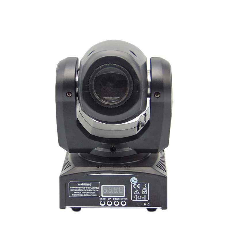цена на 30w led spot moving head gobo spot light DMX512 moving head spot light 30w DJ light equipment