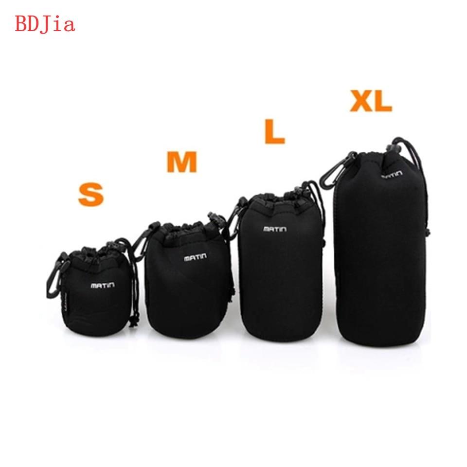 Tamanho XL L M S Neoprene câmera DSLR lente macia protetor bolsa para Canon  Nikon sony 7cbaa205d2813