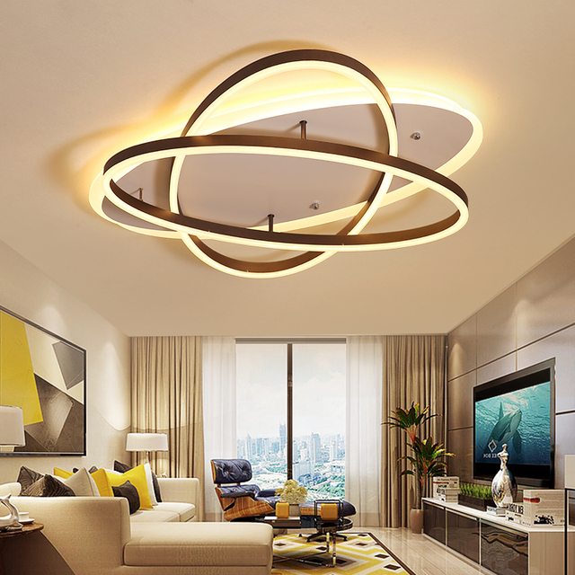 Rectangle Ceiling Light Led Lamp Modern For Living Room Bedroom