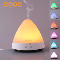 CRDC LIFE Aromatherapy Essential Oil Diffuser LED Lights Ultrasonic Cool Mist Aroma Humidifier For Office Bedroom