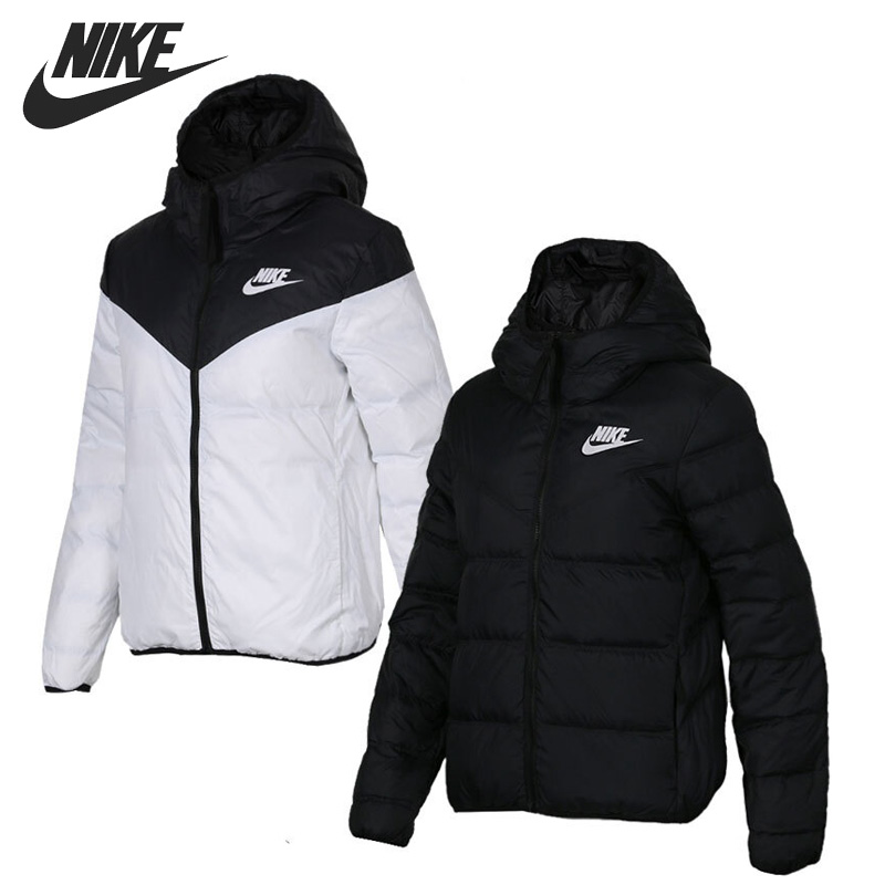 Original New Arrival 2018 NIKE WR DWN FILL JKT Reversible Women's Down Coat Hiking Down Sportswear