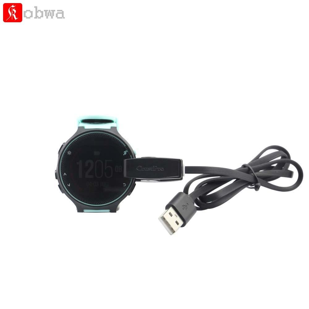 USB Cavo Dati USB Clip Caricatore Cradle Dock di Ricarica per Garmin Forerunner 235 630 230 735XT Sport Smartwatch 76 CM USB cavo
