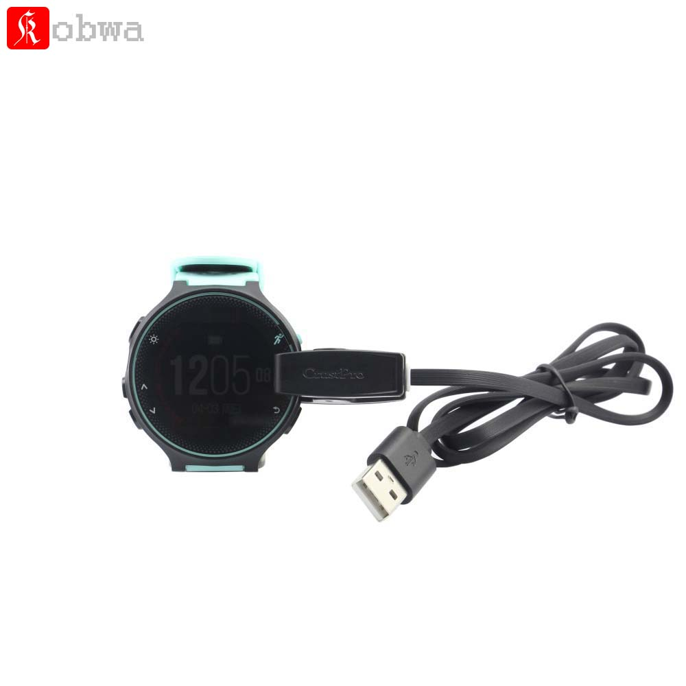 USB Data Cable USB Clip Charger Cradle Charging Dock for Garmin Forerunner 235 630 230 735XT Sport Smartwatch 76CM USB Cable usb charger dock charging cradle for samsung gear fit2 pro sm r360 smart watch cable cord charge base station for fit 2 sm r360