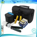 7 In 1 FTTH Fiber Optic Tool Kit with FC-6S Optical Fiber Cutter and CFS-2 Fiber Stripper and Alcohol Bottle and Cleaning Wipes