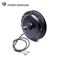 Top Motor 48v 1500w Ebike Brushless Gearless Rear Hub For Electric Bicycle Scooter Cycling Diy Conversion Kits