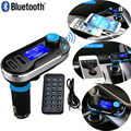 Voiture quente FM Transmissor de Música Sem Fio Bluetooth Hands-free Chamada MP3 Player Sem Fio Car Charger Kit USB SD LCD 3 Cor