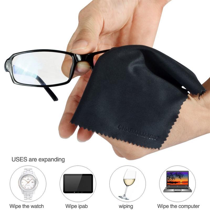 LUOEM 6 шт. из микрофибры для очков экраны линзы iPad Планшеты iPhone Телефонов ноутбук ЖК-дисплей ТВ и других деликатных поверхностей