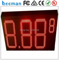 Leeman 10inch 12 Inch 8 889 4 Digits Outdoor Led Gas Price Digital Display 16 Outdoor