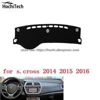 Dashboard Mat Protective Pad Shade Cushion Photophobism Pad Car Styling Accessories For Suzuki S Cross S