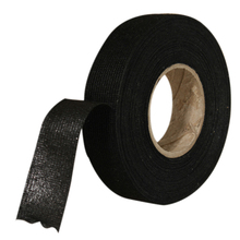 1pc Black Adhesive Cloth Fabric Tape Cable Wiring Harness For Car Looms Protection 19mmx15M
