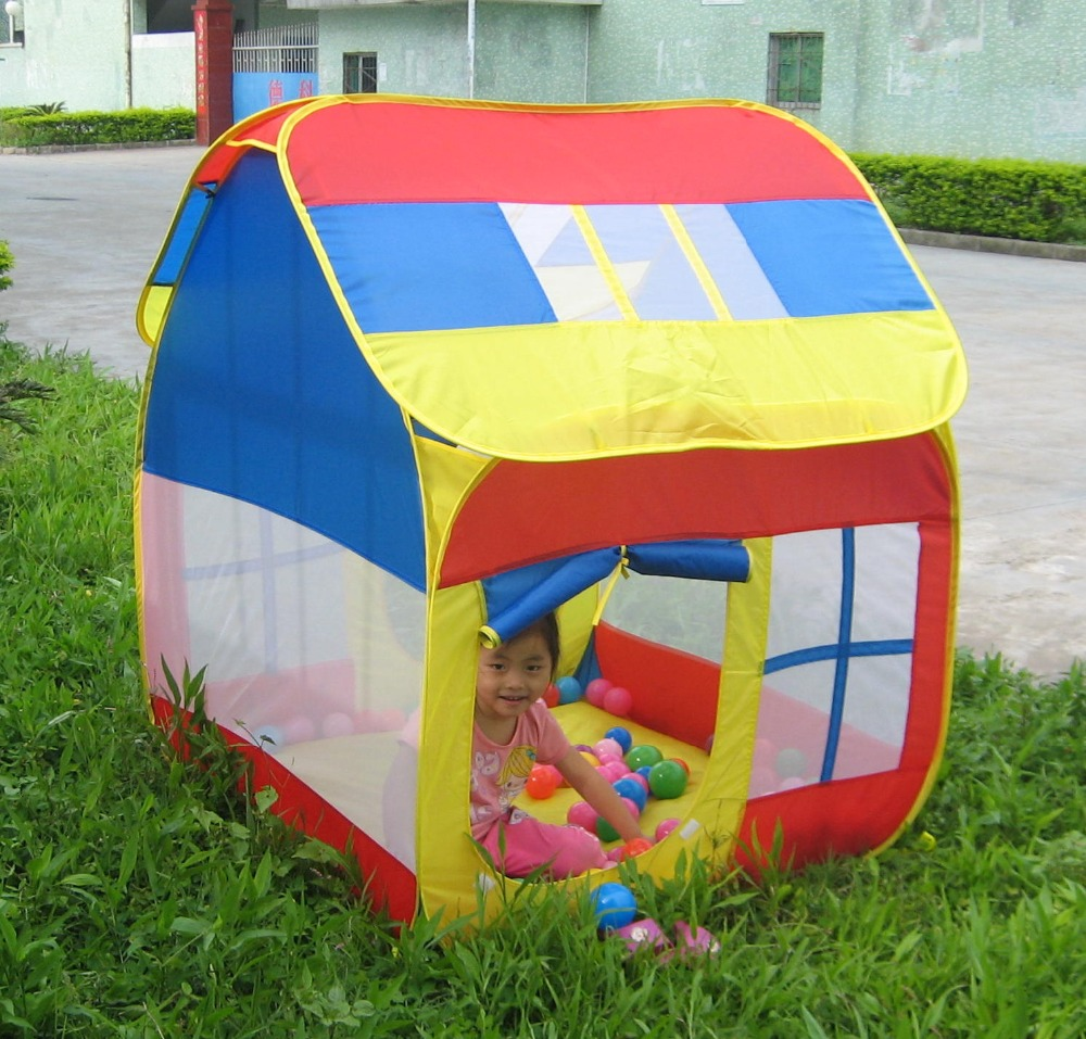 ФОТО Child  Gift Indoor Outdoor Tent Childrn Play Tents Kids Game House Baby Play House Children Gift Tents D384