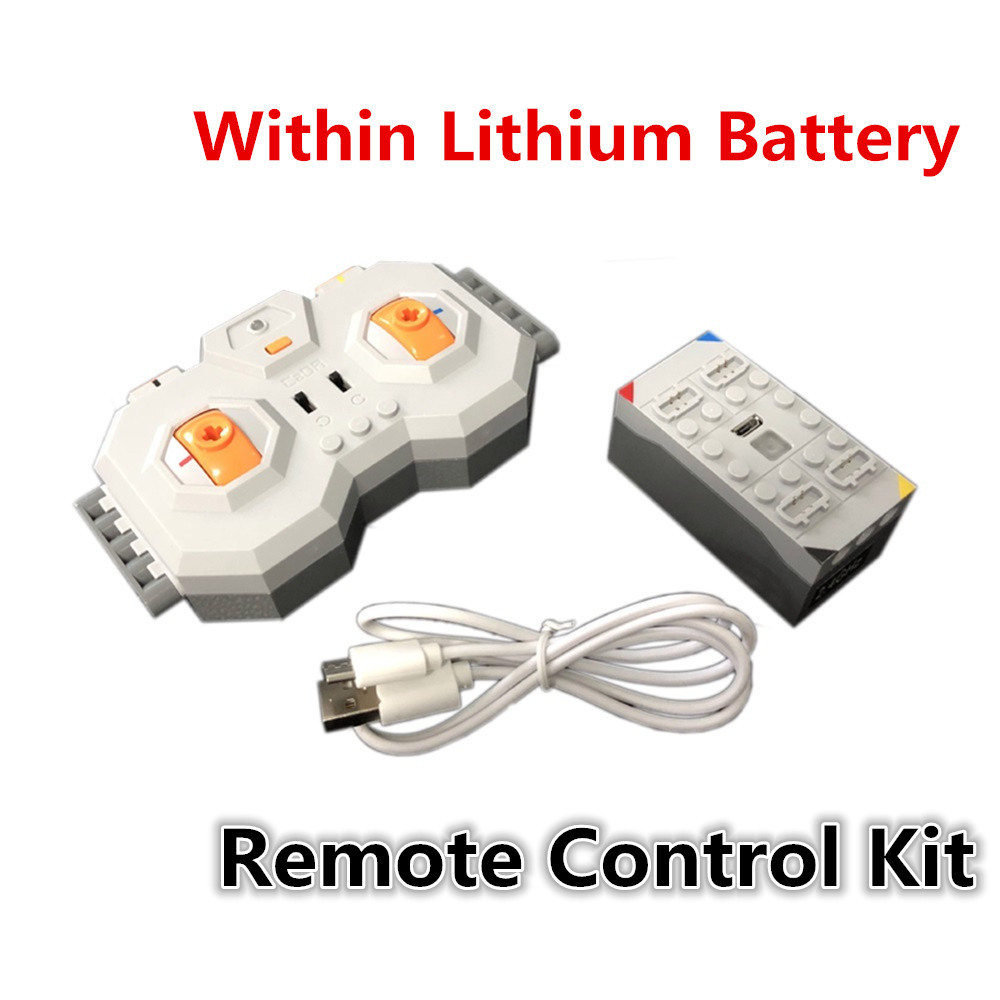 Professional Within Lithium Battery 4 Channel 2.4G Remote Control RC USB Charge 8878 Building Blocks Technic Compatible Brands Professional Within Lithium Battery 4 Channel 2.4G Remote Control RC USB Charge 8878 Building Blocks Technic Compatible Brands