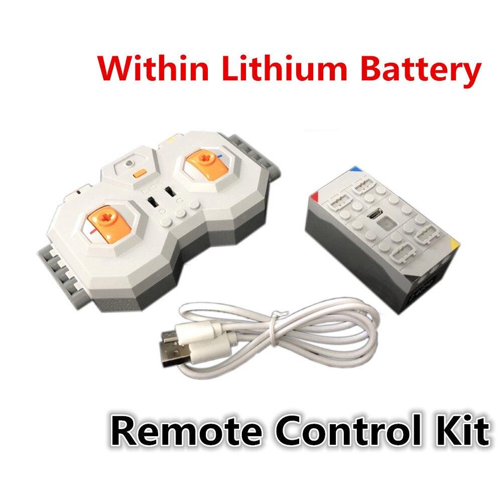 Professionnel Dans Au Lithium Batterie 4 Canaux 2.4G Télécommande RC USB Charge 8878 Blocs de Construction Technique Compatible Marques