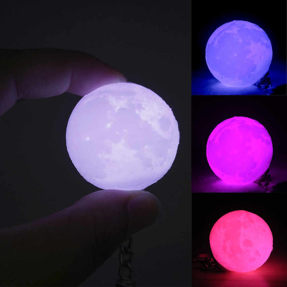 Led Night Lamp Printing Moon