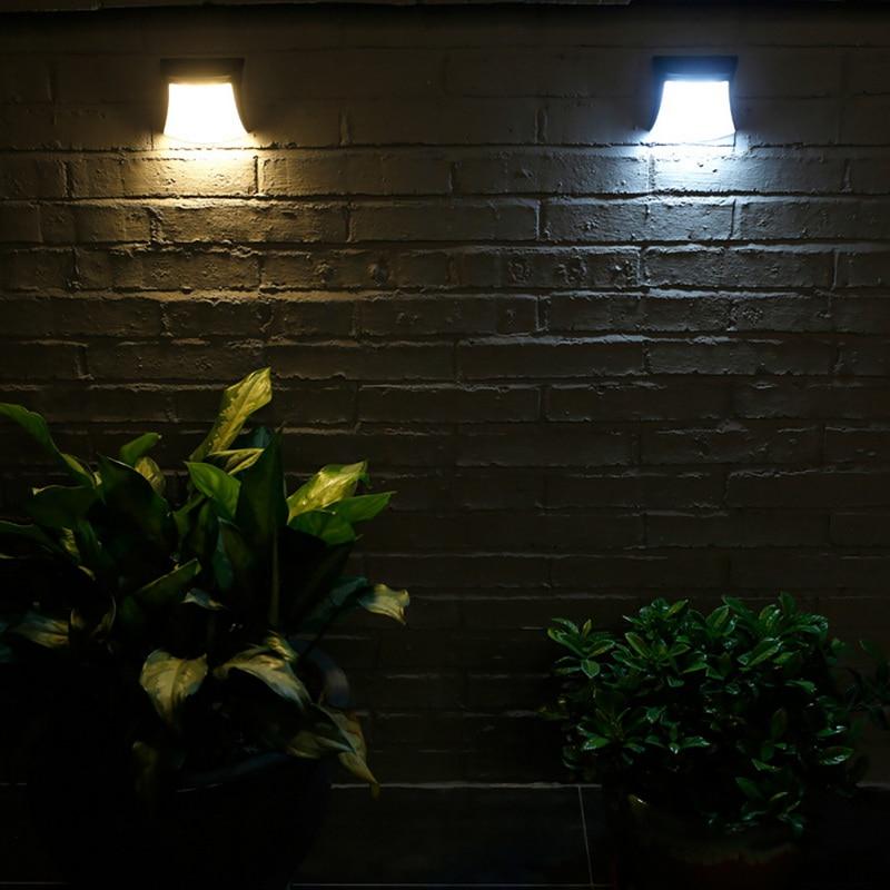 Solarlampen Led Solar Licht Outdoor Solar Licht Zaun Yard Post Pool Led Platz Licht Hof Landschaft Garten Lampe