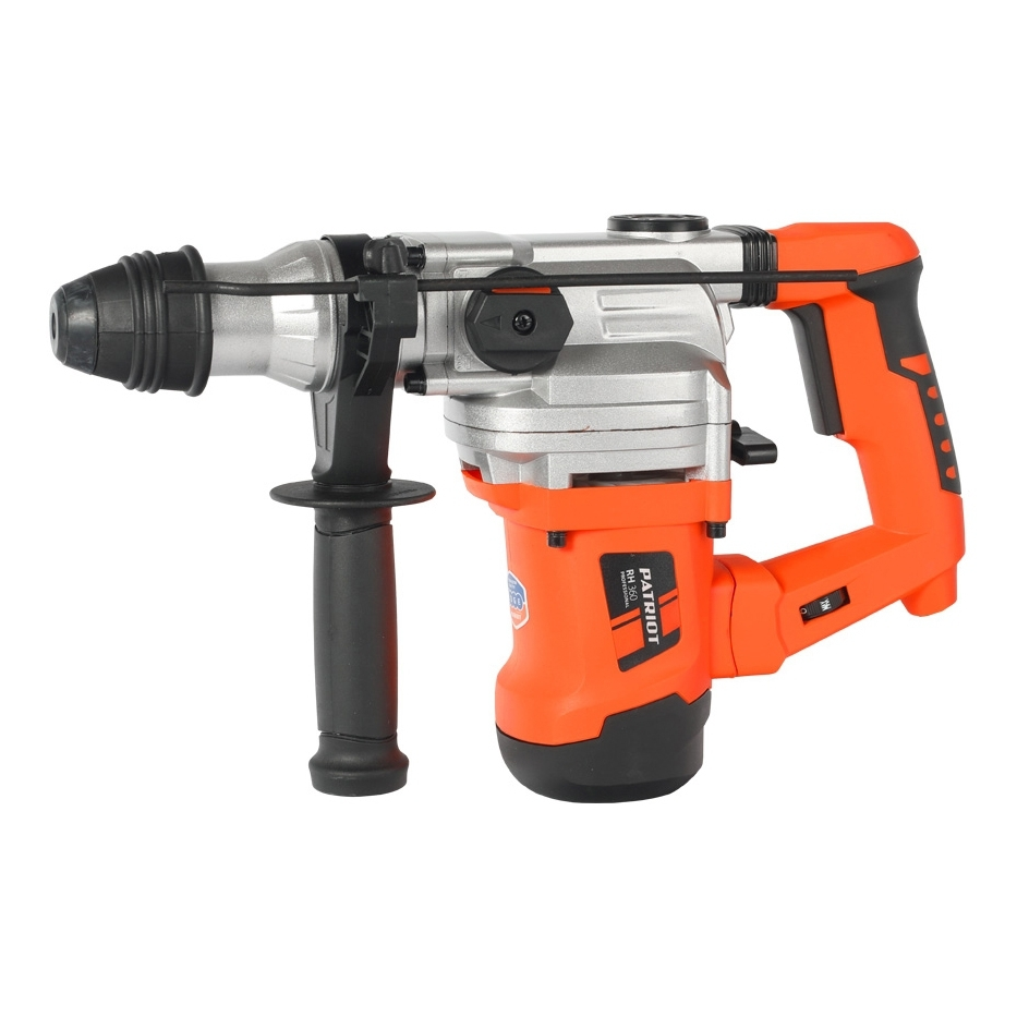 Hammer Drill electric PATRIOT RH 360 (Power Of 1300 W, 4500 beats per minute, Chuck type SDS +, case) rotary hammer patriot rh 360