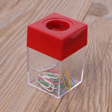 Box Clips-Dispenser Paper-Holder School-Supplies Office Fashion And 1pc Case Square